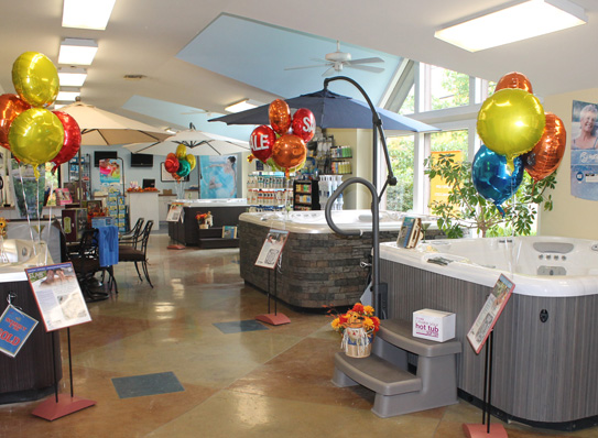 Rainbow Pools Retail Store